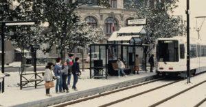 tram de nantes 1985