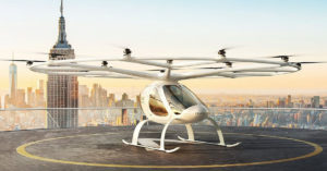 Volocopter-taxi volant