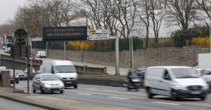 Peripherique pollution paris