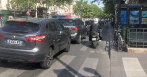voitures rue de clichy