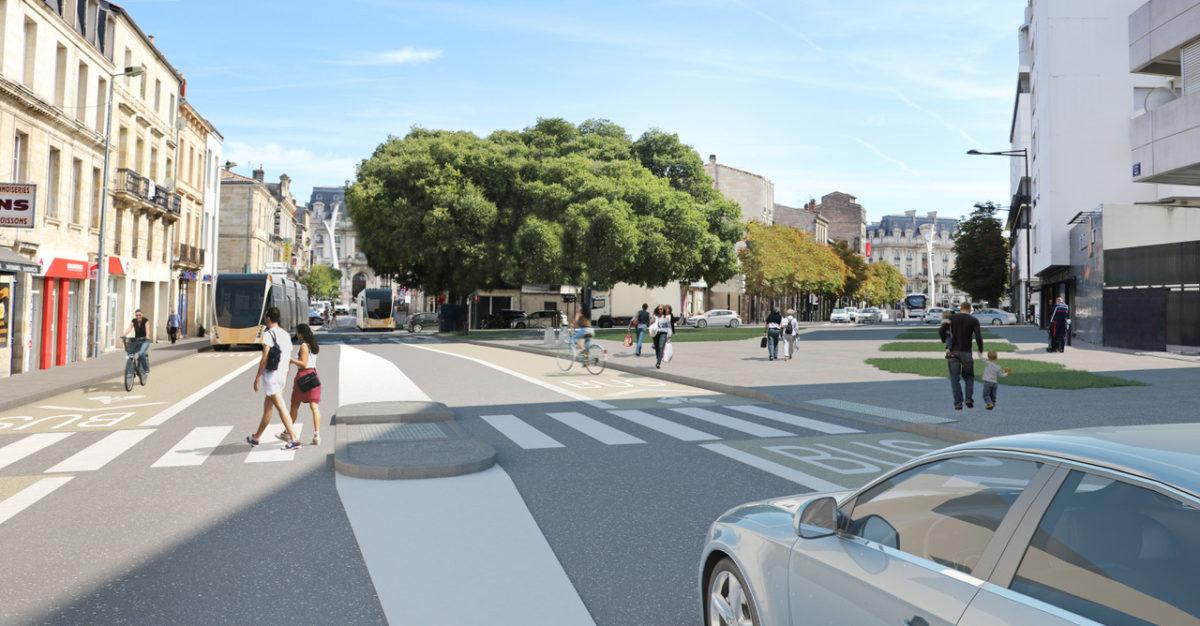 Un futur BHNS à Bordeaux