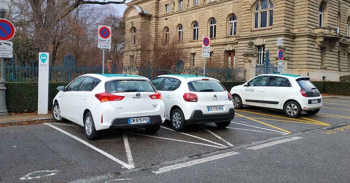 Autopartage strasbourg Citiz