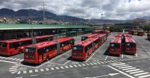 Bus à Bogota