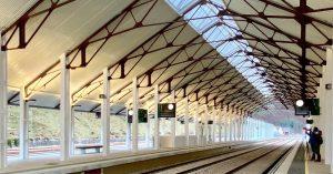 Nouvelle gare de Canfranc inaugurée le 15 avril 2021