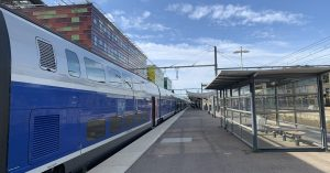 TGV en gare de Perpignan en 2021