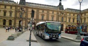 Iveco bus Paris