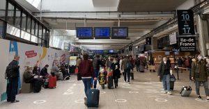 gare de Paris-Montparnasse avril 2021