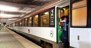 Train de nuit paris Nice